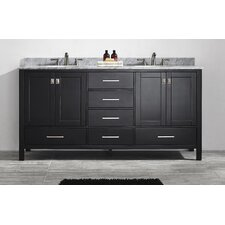 "Gela 72"" Double Vanity Set"