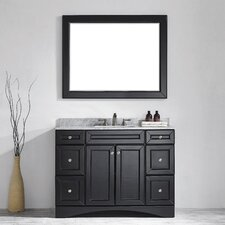 """Naples 48"""" Single Vanity Set with Mirror"""