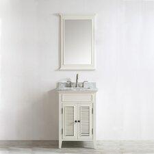 """Piedmont 24"""" Single Vanity Set with Mirror"""