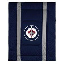 NHL Winnipeg Jets Sidelines Comforter