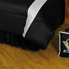 NHL Pittsburgh Penguins Polyester Jersey Bed Skirt