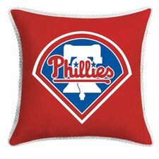 MLB Philadelphia Phillies Sidelines Throw Pillow