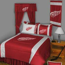 NHL Detroit Red Wings Drape Panels (Set of 2)