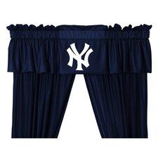 """MLB New York Yankees 88"""" Curtain Valance"""