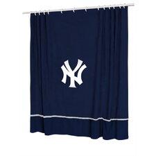 MLB New York Yankees Sidelines Shower Curtain