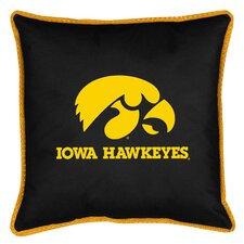NCAA Iowa Sidelines Throw Pillow
