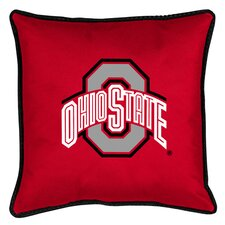 NCAA Ohio State Sidelines Throw Pillow