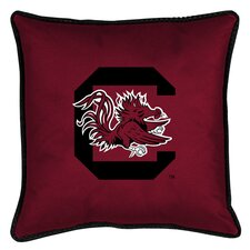 NCAA South Carolina Sidelines Throw Pillow