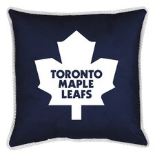 NHL Toronto Maple Leafs Sidelines Throw Pillow
