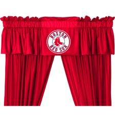 "MLB Boston Red Sox 88"" Curtain Valance"