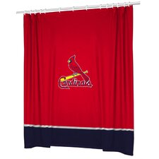 MLB St. Louis Cardinals Sidelines Shower Curtain