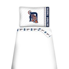 MLB Detroit Tigers Microfiber Sheet Set