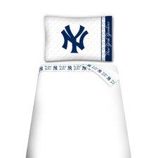 MLB New York Yankees Microfiber Sheet Set