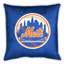 MLB New York Mets Sidelines Throw Pillow