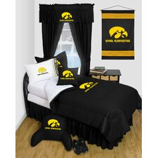 NCAA Iowa Bed Skirt