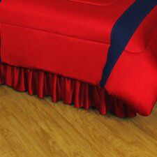 NHL Montreal Canadiens Polyester Jersey Bed Skirt