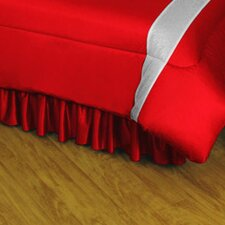 NHL Detroit Red Wings Polyester Jersey Bed Skirt