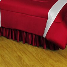 NHL Colorado Avalanche Polyester Jersey Bed Skirt