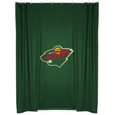 NHL Minnesota Wild Shower Curtain