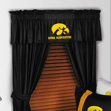 "NCAA 88"" University of Iowa Hawkeyes Curtain Valance"