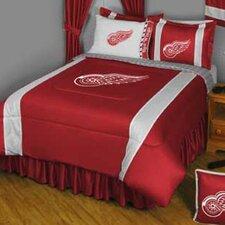 NHL Detroit Red Wings Sidelines Comforter