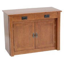 Shaker Mission Style Expanding Cabinet