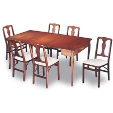 Traditional Expanding 7 Piece Dining Set