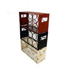 Metal 3 Box Wine Rack