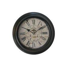 "12"" Metal Framed Clock"