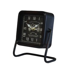 Metal Square Table Clock