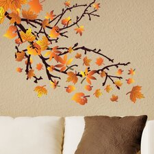 Spring Leaves Wall Decal