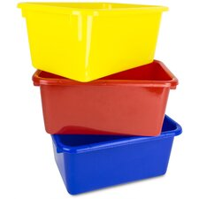 Kid's Toy Storage Organizer Replacement Bin (Set of 3)