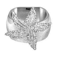 Small Starfish Napkin Ring (Set of 4)