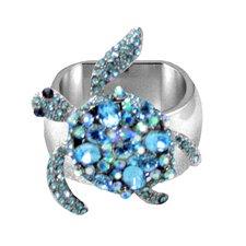 Sea Turtle Napkin Ring (Set of 4)