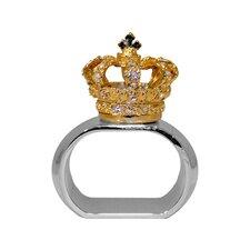 Gold Crown Napkin Ring (Set of 4)
