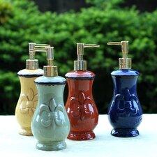 Tuscany Fleur De Lis Soap Dispenser (Set of 4)