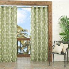 Totten Key Trellis Single Curtain Panel