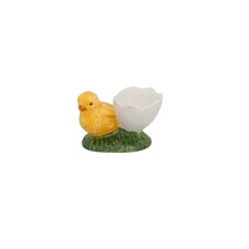 1 Eggshell with Whole Chick Egg Cup (Set of 4)