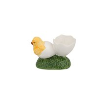 1 Eggshell with Chick Egg Cup (Set of 4)