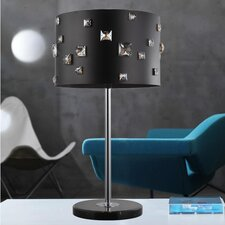 "Shadow 4 Light 26"" Table Lamp with Drum Shade"
