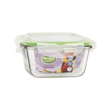 Facilita 17 oz. Hot Square Bowl with Lid
