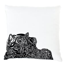 Wildlife Hippo Limited Edition Eco Luxury Pillow Cover