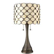 """Serena d'italia 22"""" H Table Lamp with Drum Shade"""