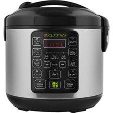 3 Squares TIM3 MACHIN3™ Rice Cooker, Slow Cooker, Food Steamer & Yogurt Make