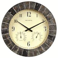 "AcuRite 14"" Outdoor Clock Combo"