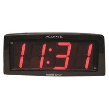 """AcuRite 2.0"""" LED SNF Alarm Clock"""