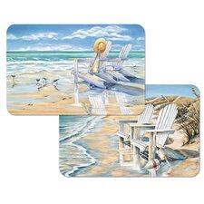Beach Days Reversible Place Mat