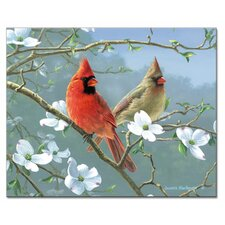Beautiful Songbirds Cutting Board