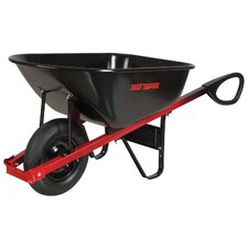 6 Cubic Foot Total Control™ Steel Wheelbarrow
