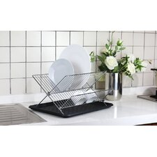 Foldable Dish Rack with Drainboard